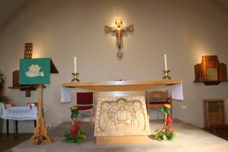 Picture of St. Martin's Church Altar